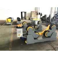 Buy cheap Self Aligning Pipe Welding Rollers / Tank Turning Rolls PU Wheel,10T from wholesalers