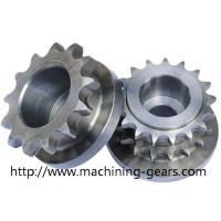High strength Chain Sprocket Wheel 0.03mm Tolerance Stable Performance Manufactures