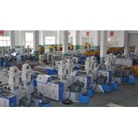 Double Wall Corrugated Pipe Extrusion Line , Corrugated Pipe Production Equipment Manufactures
