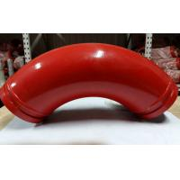 Cheap Back Fat Elbow Casting Manganese Concrete Pump Pipe Elbow DN125*R275*90D for sale