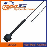 1 section fiber mast car antenna/ fiberglass mast car antenna/ active radio antenna TLD1290 Manufactures