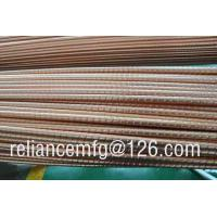 Extrusion Corrugated Seamless B111 C12200 Spiral Copper Low Fin Tube For Heat Exchanger Manufactures