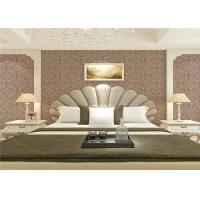 Cheap Wet Embossed Non Pasted Bedding Room European Style Wallpaper 0.53*10m for sale