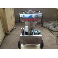 220v / 50hz Aluminum Bucket Dairy Milking Machinery With Mobile Wheel Manufactures