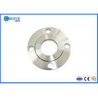 Easy Alignment Steel Pipe Flange , Forged RF Slip On Flange High Performance Manufactures
