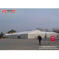 China White Outdoor Display Tents For Trade Shows Temporary Exhibition Structures on sale