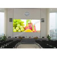 Cheap Commercial Led Display Indoor , Large Led Display Screen 104 * 78 Dots for sale
