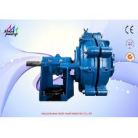 China 8 / 6 E-AH Wear Resistant High Pressure Slurry Pump With Metal Replaceable Liners on sale