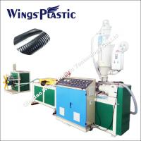 Propene Polymer PP Materials Corrugated Flexible Pipe Machine Manufactuerer Manufactures