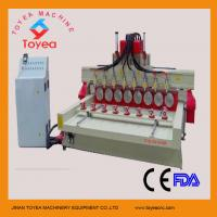 China DSP 4 axis cylindrical cnc router machine for buddha status engraving TYE-2415-8R on sale