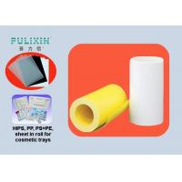 Thick 2mm Compound PE / HIPS Plastic Sheet Roll Of High Strength , Heat Resistant Manufactures