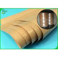 Buy cheap Greaseproof And High Temperature Resistant PE Coated Brown Kraft Paper from wholesalers