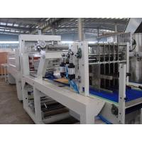 Pallet PE / PVC / POF Automatic Shrink Wrapping Machine For Soft Drink / Liquor Manufactures