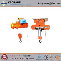 China Attractive and reasonable price Double Speed Electric Monorail Hoist on sale