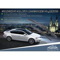 Natural Rubber Stainless Steel 14'' - 26'' Hybrid Wiper Blades With Universal Hook Manufactures