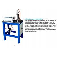 Corrugated Pipe End Facing Machine For Stainless Steel Welding Corrugated Hose Manufactures