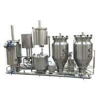 Cheap 100L Stainless Steel Home Microbrewery Equipment For Wort Processing for sale