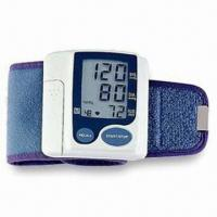Wrist Blood Pressure Monitor with Pulse Rate and Systolic/Diastolic Automatic Measurement Manufactures