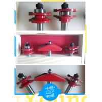 """Rail & Stile With 25 Degree Raised Panel Bit Router Bit Set - Ogee - 1/2"""" Shank Manufactures"""