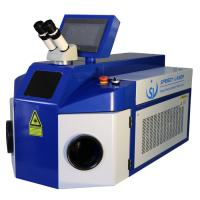 100W YAG Spot Jewelry Laser Welder With Microscope Fit Silver Gold Copper Manufactures