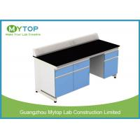 China University Laboratory Furniture With Black Granite Worktop Adjustable Height on sale