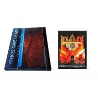 Contemporary Individual Book Printing , Square Book Printing Perfect Binding Manufactures