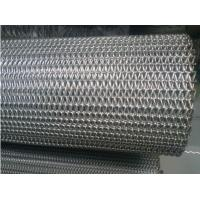 Straight Running Wire Conveyor Belts Alkali Resisting Flat Surface Custom