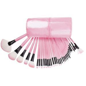 32 Pcs Professional Makeup Brush Set For Traveling Cosmetic Artist