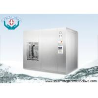 Floor Loading Automatic Autoclave Steam Sterilizer With 3 Levels Passports Manufactures