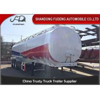 3 Axles 40000 Liters Fuel tanker semi trailers 10Compartments tanker trailers European system