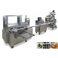 380V Mooncake Filled Encrusting Machines Cookies Producion Line Manufactures
