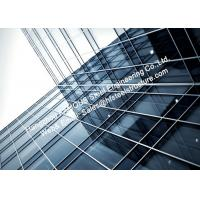 Photovoltaics Integrated Facades Solar Modules Glass Curtain Wall with A Single Glass Component Manufactures