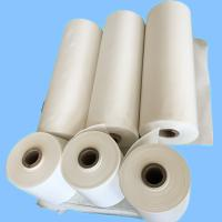 Buy cheap Raw White Polyester Industrial Liner Fabric For Rubber Industry / Conveyor Belt from wholesalers