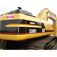 CAT 330 Second Hand Excavators 750mm Shoe Size With 1.5m3 Bucket Capacity Manufactures