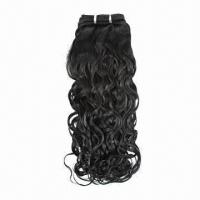 100% Brazilian Virgin Human Hair Machine Weft, Available in Various Colors and Textures Manufactures