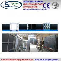 China Fully Automatic Insulating Glass Vertical Double Glazing Equipment / Production Line on sale