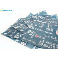 China New York Style Non Stick Cooking Paper / Blue Parchment Lined Cookie Sheet on sale