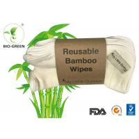 Quality Super Soft Bamboo Cloth Wipes , Dry Aleva Naturals Antibacterial Baby Wipes for sale