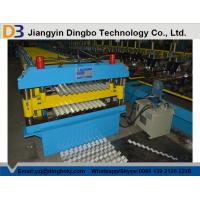 Roof Tile Corrugated Roll Forming Machine with Comuter Control System for Shelving , HVAC Manufactures