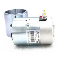 2700Rpm Hydraulic 24v Electric Motor 2.2KW N2024 Silver Color With Shaft Manufactures