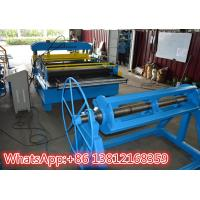 Cheap Cut To Length Standing Seam Metal Roof Machine With Hydraulic Cutting Type for sale