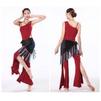 Elegant modal belly dance practice costumes / outfits  leotard top and pants Manufactures