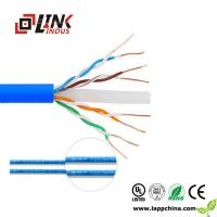 China LAN CABLE CAT6 networking cabling 4pairs twisted pair utp ftp sftp cable on sale