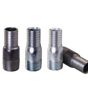 1/2-8 NPT,BSPT. galvanized steel king nipples