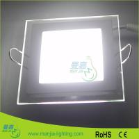 OEM WW / NW / PW 6Watt Square LED Ceiling Lights With Glass Outfit Manufactures