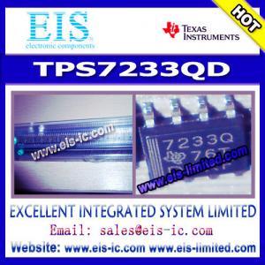 Cheap TPS7233QD - Texas Instruments (TI) - MICROPOWER LOW-DROPOUT (LDO) VOLTAGE REGULATORS - Ema for sale