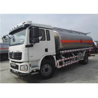 China Shacman 4x2 6 Wheels 15000l Tanker Truck Trailer , Fuel Tank Trailer Bowser on sale