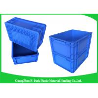 400*300mm Mini Load Industrial Plastic Containers , Standard Euro Storage Boxes Manufactures