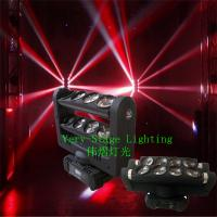 8PC 10W RGBW 4 in 1 LED Spider Beam Bar Moving Head Light (MSB-0810) Manufactures