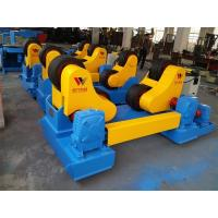 Adjustable Self Aligned Welding Rotator Widen Rubber Coated With Control Cabinet Manufactures
